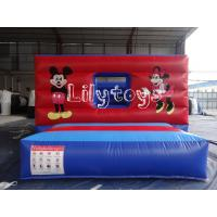 Buy cheap Commercial Inflatable castle Bouncers For Inflatable Sports Games from wholesalers