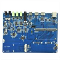 Buy cheap 6 Layers PCBA Board Software Burning Program Coppercam Etching Pcb Assembly from wholesalers