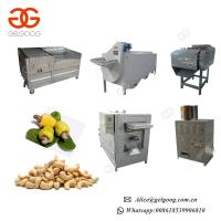 Buy cheap 300-500kg/H Stainless steel Industrial Sesame Roaster Plant Full Automatic Cashew Nut Roasting Machine Price from wholesalers