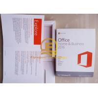 Buy cheap Microsoft Office Standard / Home and Bussiness 16 Full Version DVD / CD Media from wholesalers