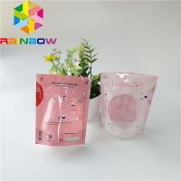Buy cheap Menstrual Cup Stand Up Pouch Heat Sealed Microwave Sterilizer Bag With Clear Wind from wholesalers