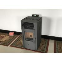 Buy cheap Customized Small Room Pellet Stove , Pellet Boiler Stove With Cast Iron Burning Pot from wholesalers