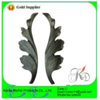 Buy cheap cast iron flowers for window girll design/door /gate from wholesalers
