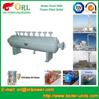 Buy cheap Power plant boiler spare part mud drum ORL Power ISO9001 certification manufacturer from wholesalers