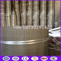 Buy cheap Reverse Dutch Twill Weave Filter Belts Used in Ribbon Style Continuous Screen Changers from wholesalers