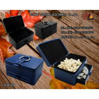 Buy cheap High end and elegant PU leather jewelry box for wholesale from manufacturer from wholesalers
