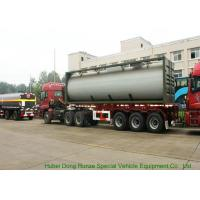 Buy cheap UN1789  Hydrochloric Acid ISO Tank Container , Chemical ISO Liquid Container 30FT from wholesalers