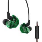 Buy cheap Dynamic 1DD 2BA KZ ZSR Wired Headphone Hybrid Dynamic Sport Noise Cancelling Earphone from wholesalers
