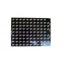 Buy cheap Black Gold Aluminum PCB Board Soldermask Immersion Gold for Solar Panel product