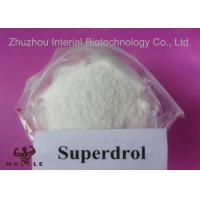 Buy cheap Superdrol Powder Growth Hormone Steroid , Methyldrostanolone For Muscle Enhancement from wholesalers