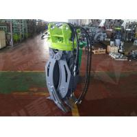 Buy cheap ZX60 Mini Excavator Rotating GrappleHydraulic Timber Grappling Attachment from wholesalers