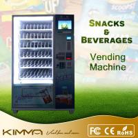 Buy cheap Cold Drink / Potato Chips Combo Snack And Soda Vending Machine With 10 Inch LCD Screen from wholesalers