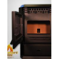 wood Pellet Stove with Casting Burning Pot Smart and Remote Control