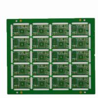 Buy cheap Fr4 1.0mm BGA 2 Layer PCB Board Immersion Gold  PCB With UL Certificate from wholesalers