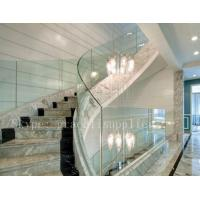 Buy cheap high quality stalinite Frameless fence clear armored glass For Balustrade from wholesalers