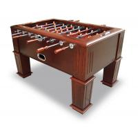 Wood Veneer Frame Heavy Duty Football Table With Durable Solid Steel Rod