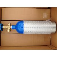 Buy cheap 1.68L DOT  CO2 Beverage Aluminium Gas Cylinder 139bar / 2015psi from wholesalers