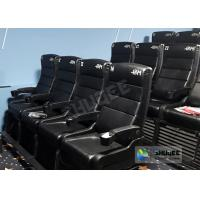 Buy cheap Update 4D Theater Equipment Seats With Three Ultra Features And Physical Effect Technology product