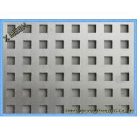 Buy cheap Square Holes Perforated Metal Panel FacadeSS Plates Excellent Visibility from wholesalers