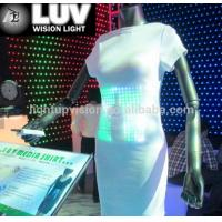 Buy cheap promotional tshirts led light t-shirt,el wire shirt,custom el shirts from wholesalers