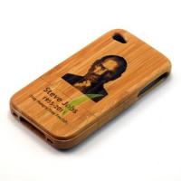 Buy cheap Earth Friendly Wooden Hard Case Cell Phone Faceplate Covers For IPhone 4 from wholesalers