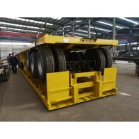Buy cheap High quality 40 ft 12m 3 axles flat bed straight frame trailer from wholesalers