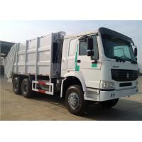 Buy cheap HOWO 10 wheeler Rear Loader 20CBM 20M3 Compactor Compressed compression Garbage Truck from wholesalers