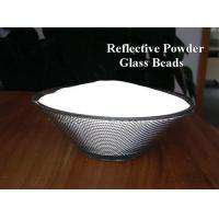 Buy cheap 1.93nD H grade 3M quality of  High reflective index Glass Beads Retro Reflective Powder from wholesalers
