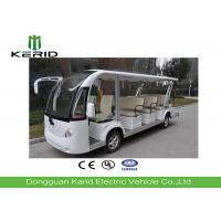Buy cheap 14 Seater Electric Sightseeing Bus Equipped With Effective Shock Absorb Suspension product