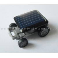 Buy cheap Low power consumption ABS Solar Power Mini Car with factory price from wholesalers
