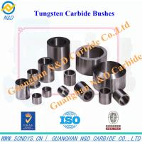 Buy cheap Good quality of tungsten carbide bushes from wholesalers