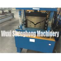 Buy cheap 4m Length Roof Flashing Gutter Making Machine With Gearing Rigging from wholesalers