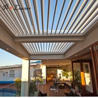 Buy cheap China wholesales quality assurance External pergola opening louver waterproof from wholesalers