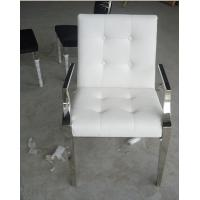 Buy cheap Customized Modern White Leather Casual Leisure Lounge Chair / Armchair  from wholesalers