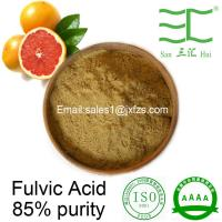 Buy cheap buy fulvic acid 95% 85% 75% powder high water solubility from wholesalers