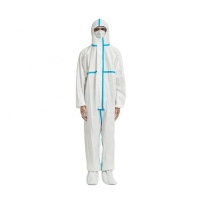 Buy cheap SF 70gsm Full Body Disposable Coveralls 195cm from wholesalers