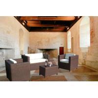 4pcs home cane furniture sofas