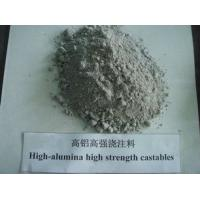 Buy cheap high alumina high strehgth refractory castable from wholesalers