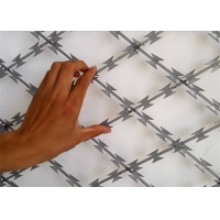 Buy cheap 450mm Coil Razor Barbed Wire 18 Inch from wholesalers