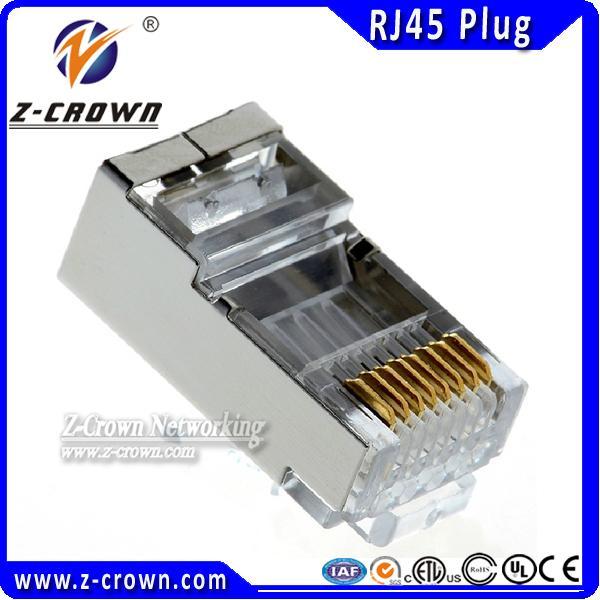 Quality RJ45 Female Connector/Plug Cat5 FTP RJ45 Plug Terminator for sale