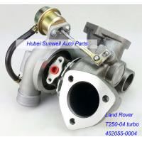 Buy cheap T250-04 Turbo 452055-0004 for Land Rover Defender Discovery Range Rover from wholesalers