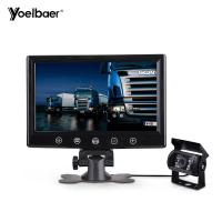 Buy cheap 9 Security Wired Backup Camera System 2 Channels TFT LCD Monitor OSD Control from wholesalers