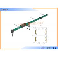 Buy cheap Green 4 Poles Plastic Conductor Rail System Max Voltage 600 CE from wholesalers