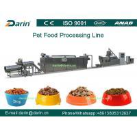 Buy cheap Dog Fish Cat Pet Food Extruder equipment / machine , Dry pet food machinery product