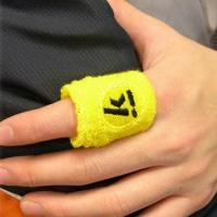 Buy cheap Terry Cotton Finger Size Sweatband, Available for Logo Added product