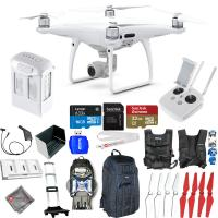 Buy cheap DJI Phantom 4 Pro Quadcopter! NEW MODEL! MEGA Everything You Need Accessory Kit! from wholesalers