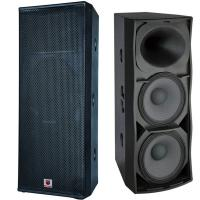 Buy cheap dual 15'' 1000W 18mm plywood high end driver speaker outdoor stages big shows concerts events pro audio speaker system from wholesalers