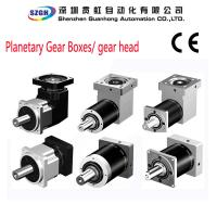 Buy cheap Small Backlash S Type Gear Reducer 3 Stage Planetary Gearbox 1.5 kg - 80 kg from wholesalers