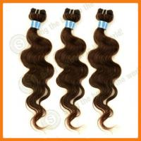 Buy cheap 100% virgin AAAA quality Human Brazilian remy hair extensions/26 from wholesalers