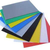Buy cheap 5mm 8mm Colourful Best Price PP Sheet/Flute Board/Corrugated Plastic Board Manufacturer for Protection and Signage and B from wholesalers